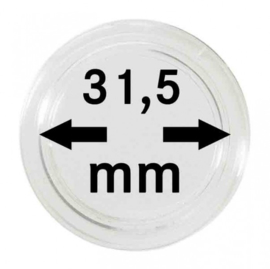 Muntcapsule 31,5 mm