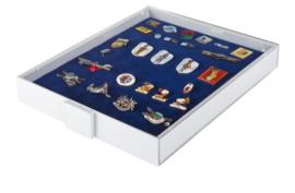 Lindner Verzamelbox voor speldjes en medailles