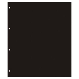 Schutblad Postkaarten zwart