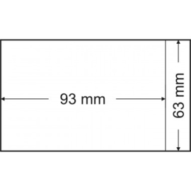Pergamijnzakjes 93 x 63 mm