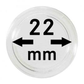 Muntcapsule 22 mm