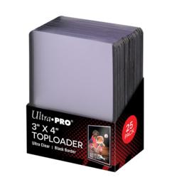 Ultra Pro Toploader 3x4 inch Black Border