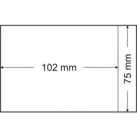 Pergamijnzakjes 75 x 102 mm