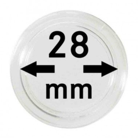Muntcapsule 28 mm