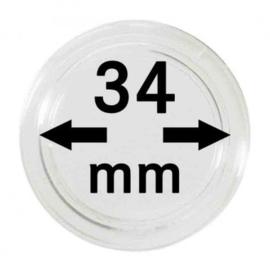 Muntcapsule 34 mm