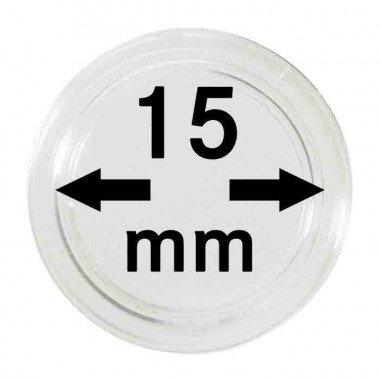 Muntcapsule 15 mm