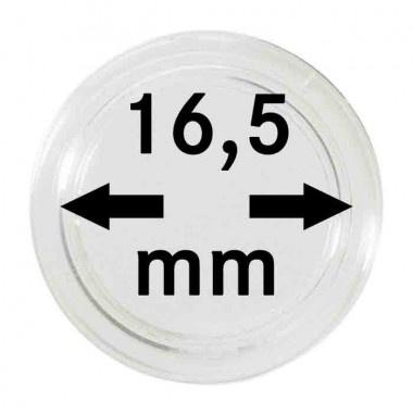Muntcapsule 16,5 mm