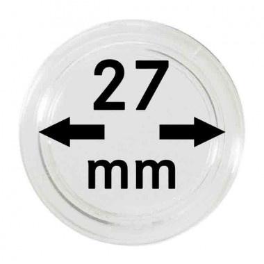 Muntcapsule 27 mm