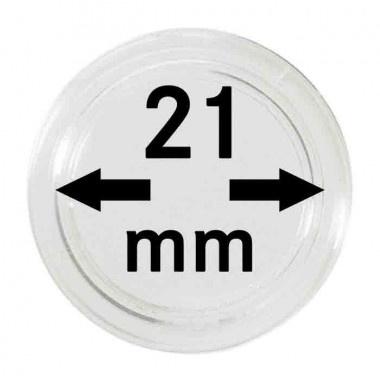 Muntcapsule 21 mm