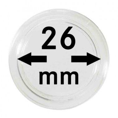 Muntcapsule 26 mm