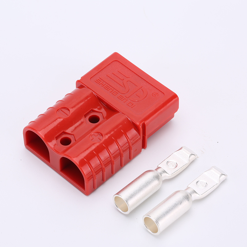 SB connector 50A rood 16mm²