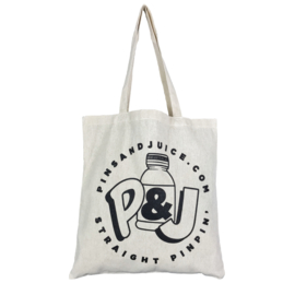 PINS & JUICE TOTE BAG