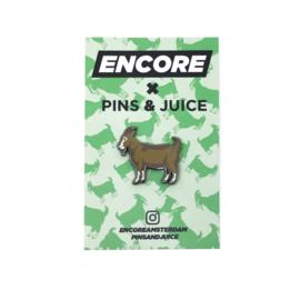 P&J X ENCORE GOAT PIN