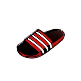 RED SLIDES PIN