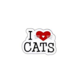 I LOVE CATS PIN