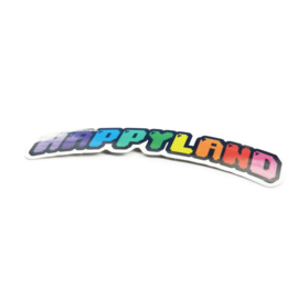 HAPPYLAND STICKER  2-PACK