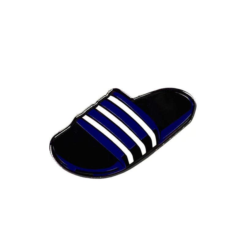 BLUE SLIDES PIN
