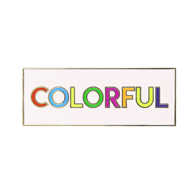 P&J X COLORFUL PIN