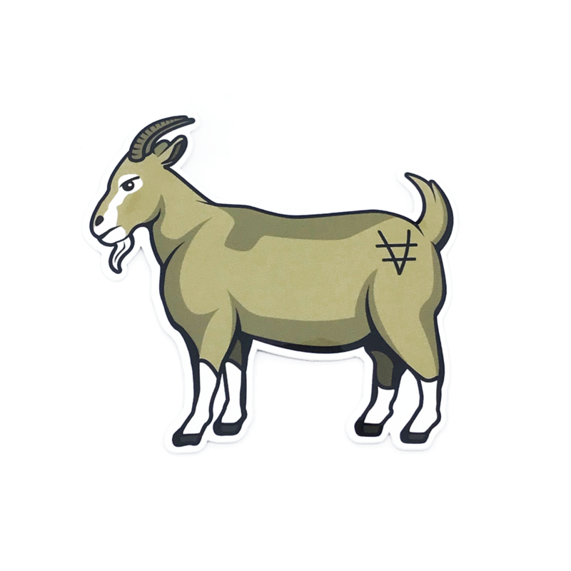 P&J X ENCORE GOAT STICKER  2-PACK