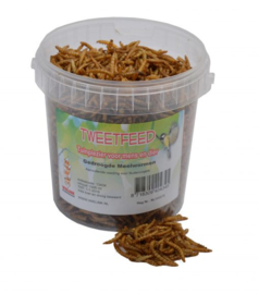 Gedroogde meelwormen 1000ml