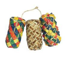 Woven Wonders Cylinder Foot Toy 3 pcs