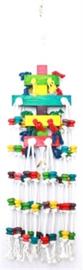 Raindrop papegaai 25x100cm