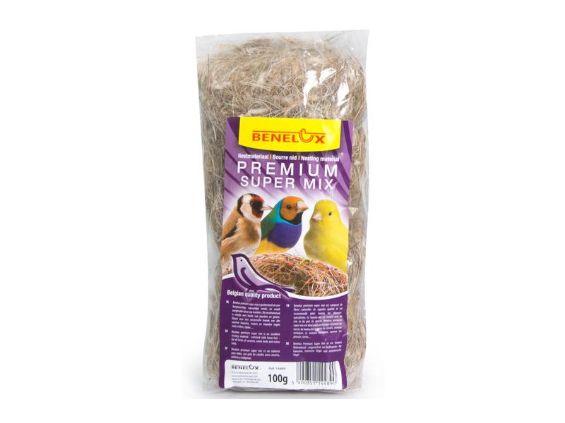 Nestmateriaal super mix 100gr