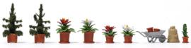 H0 | Busch 1235 -  Poinsettias & Accessories