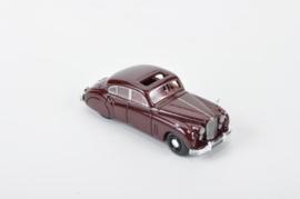 H0 | NEO 87207 - 1955 Jaguar Mk7 - Rood