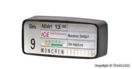 H0 | Viessmann 1397 - Treinbestemmingsdisplay met LED-verlichting