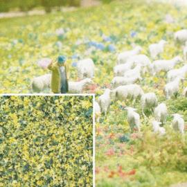 H0/N/Z | Busch 7358 - bloemvlokken paardebloemen