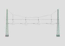 H0 | Märklin 74132 - Dwarsverbinding voor 4 sporen (1 stuks)