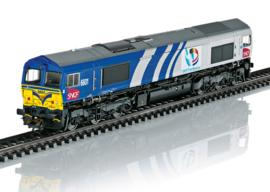 H0   Märklin 39064 - SNCF Fret Benelux, Diesellocomotief Class 66