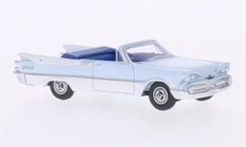 H0 | BoS-Models 87061 - Dodge Custom Royal Lancer Convertible, lichtblauw/wit, 1959