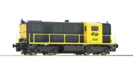 H0 | Roco 70789 - NS, diesellocomotief 2435. (DC)