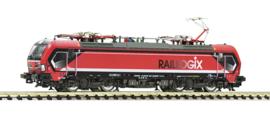 N | Fleischmann 739318 - Raillogix, Elektrische locomotief 193 627-7