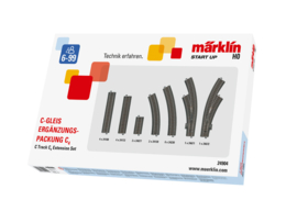 H0 | Märklin 24904 - Uitbreidingsset C4 (C-rail)