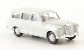 H0 | Brekina Starmada 13450 - Mercedes 180 Kombi (W120), licht grijs, zonder omkarton