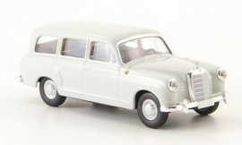 H0 | Brekina Starmada 13450 - Mercedes 180 Kombi (W120), light gray, without cardboard slipcase