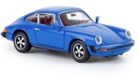 H0 | Brekina 16315 - Porsche 912 G, blue, 1976, TD.