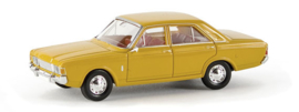 H0   Brekina 19402 - Ford 17m (P7b), daffodils yellow.