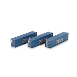 H0 | Athearn ATH29171 - 40' Corrugated Container, Wan Hai (3)