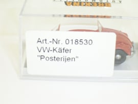 """H0   Brekina 18530 - Volkswagen kever """"Posterijen"""" hoge rente (NL)"""