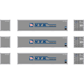 H0 | Athearn ATH12175 - Container 3 Pack 40' – NYK