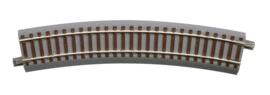 H0 | Roco 61128 - Gebogen rail, 22,5°, R=502,7 mm