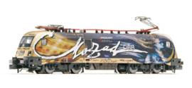 """N   Fleischmann 731178 - ÖBB, Elektrische locomotief 1116 250-5 """"Mozart"""" (sound)"""