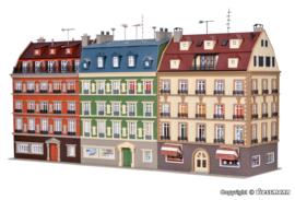 H0   Vollmer 43780 - Block of houses, 3 buildings