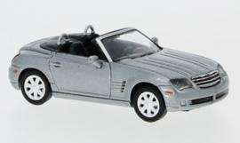 H0 | Ricko 38476 - Chrysler Crossfire Roadster, metallic-gray, top closed.