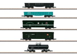 Z   Märklin 82498 - Set Amerikaanse goederenwagens