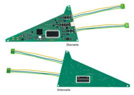 H0   Märklin 74466 - Onderbouw digitaal decoder drieweg wissel (C-rail)